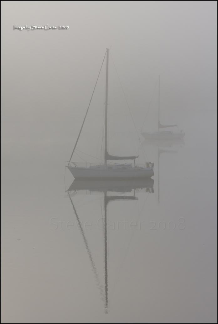 A Foggy Reflection