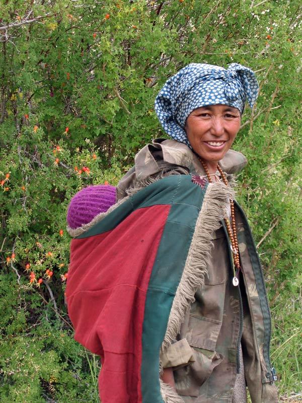 Zanskar woman