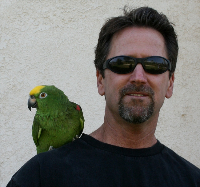 My son Gary and his friend...