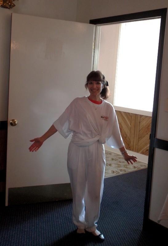 5140032._XS sized Terri Faunce (Caterer) in 3x ACG shirt.JPG