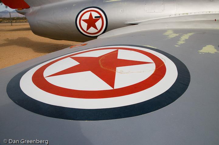 North Korean Mikoyan-Gurevich MiG-15bis Fagot