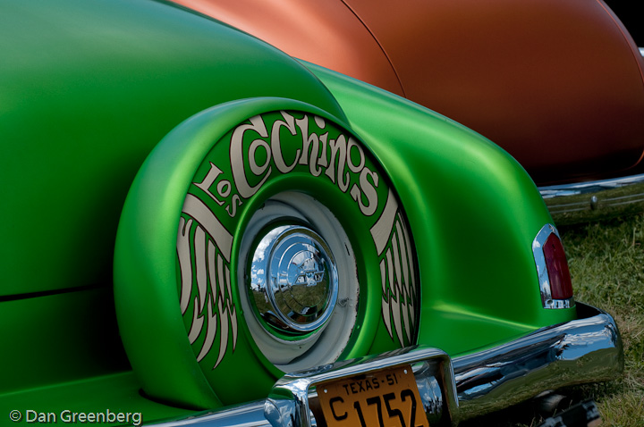 1951 Chevy in Satin Green