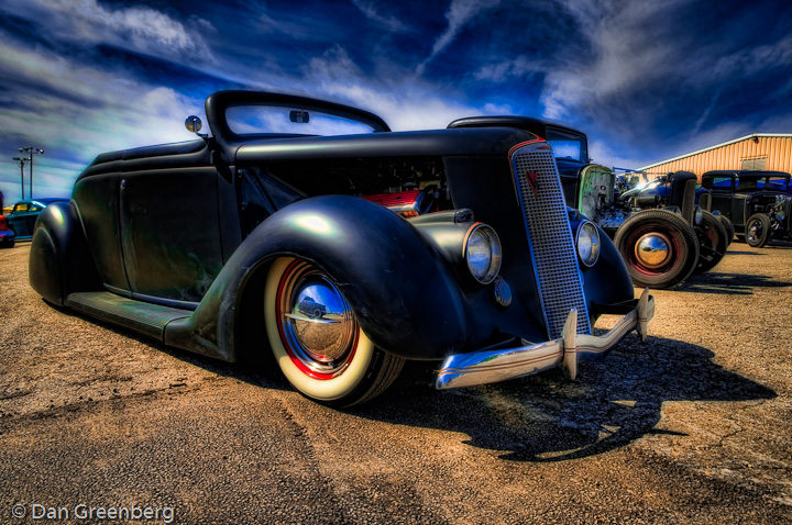 1936 Ford with LaSalle Grill