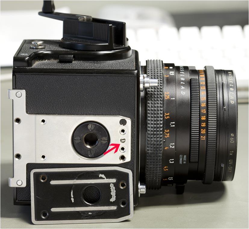 Hasselblad 500cm repair photo - Jean-Luc Elias photos at