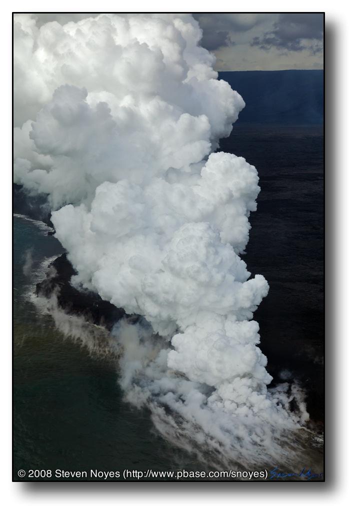 Eruption : Kilauea : Hawaii