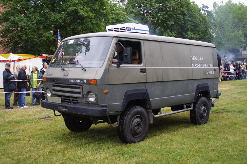 VW Noriker - Mobiles Massenspektrometer