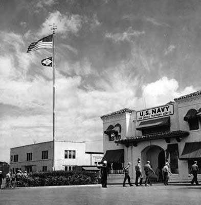 1943 - the U. S. Navys headquarters building for the Sub Chaser Training Center (SCTC) at Miami
