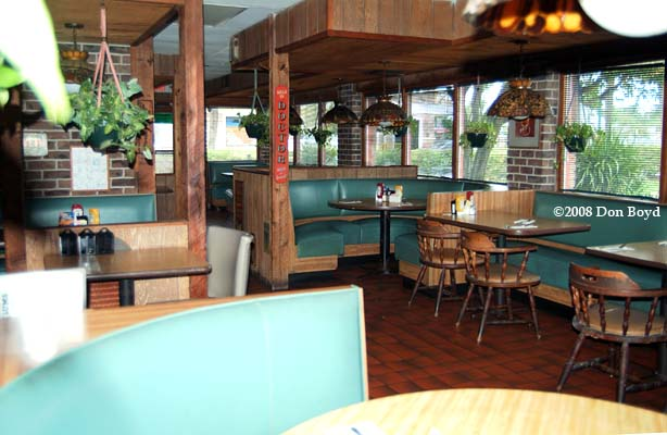 2008 The Interior Of The Last Lums Restaurant In Davie Florida