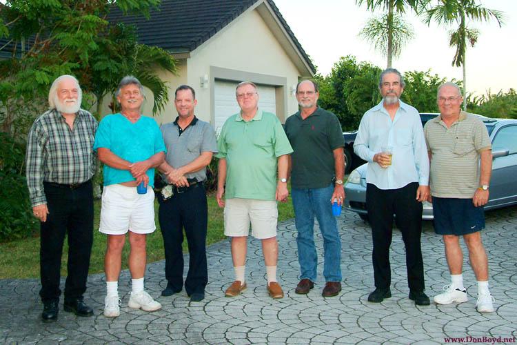 May 2009 - Bob Zimmerman, Terry Bocskey, Alan DeTomaso, Ray Kyse, Lanny Paulk, Harry Duncan Wilson and Don Boyd