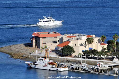 The Coast Guard Pier at Ballast Point on Naval Station Point Loma, California military stock photo #4764