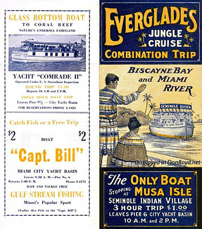 1935 - Everglades Jungle Cruise Brochure cover