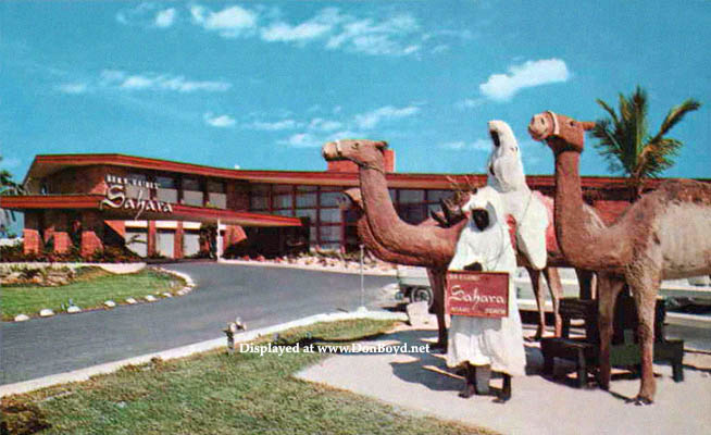 1954 The Sahara Motel On Collins Avenue In Sunny Isles