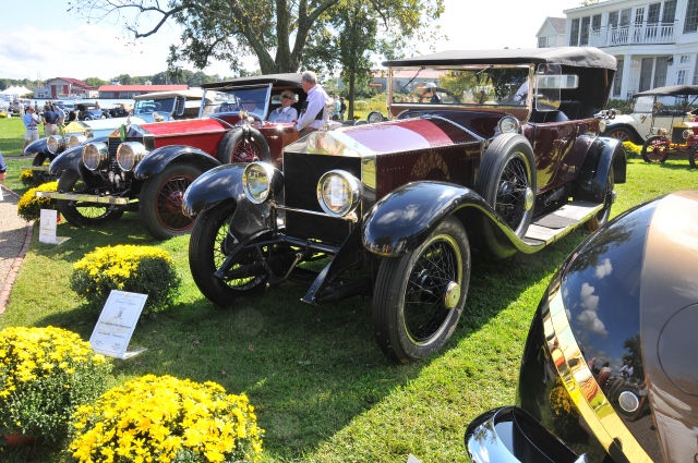 1923 Rolls-Royce Silver Ghost Tourer, Mary and Doug White, North Carolina