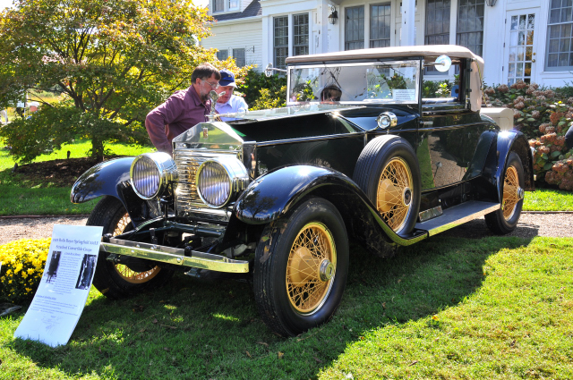 1924 Rolls-Royce Silver Ghost Convertible Coupe (Springfield) by Brewster, Veasey B. Cullen, Jr., Pennsylvania (BR/CO)