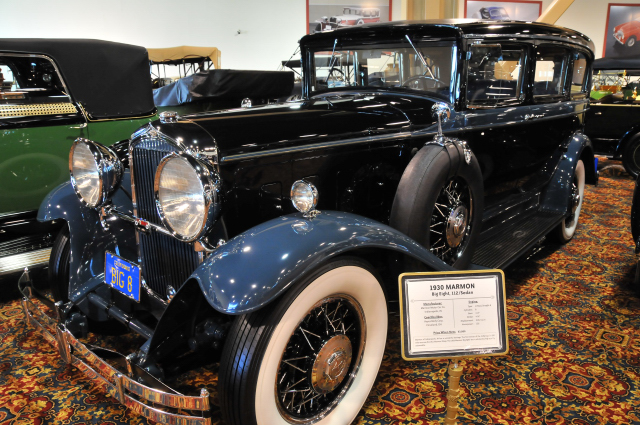 1930 Marmon Big Eight 112 Sedan by Hayes