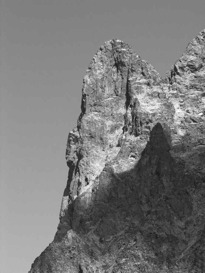 1934 - Face Ouest du Petit Pic dOssau