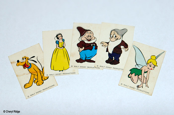 WANTED Disney character cards, Carnival Candy Corn
