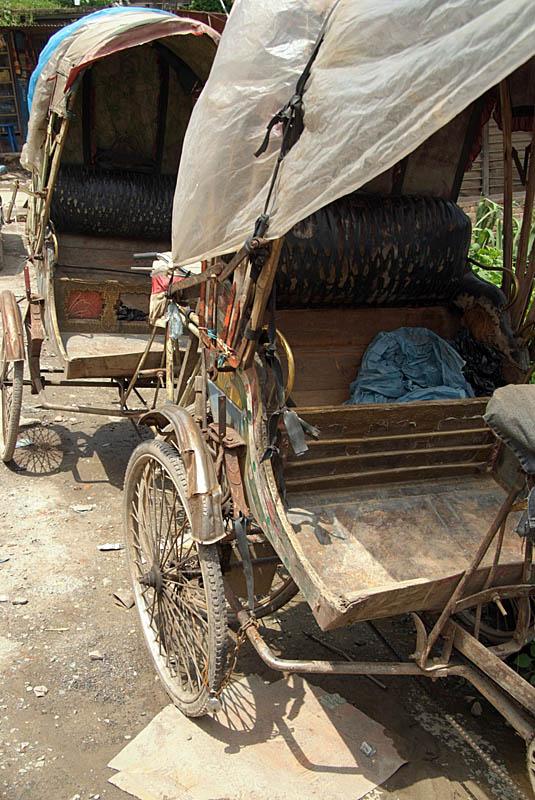 Cycle Rickshaws in Kathmandu