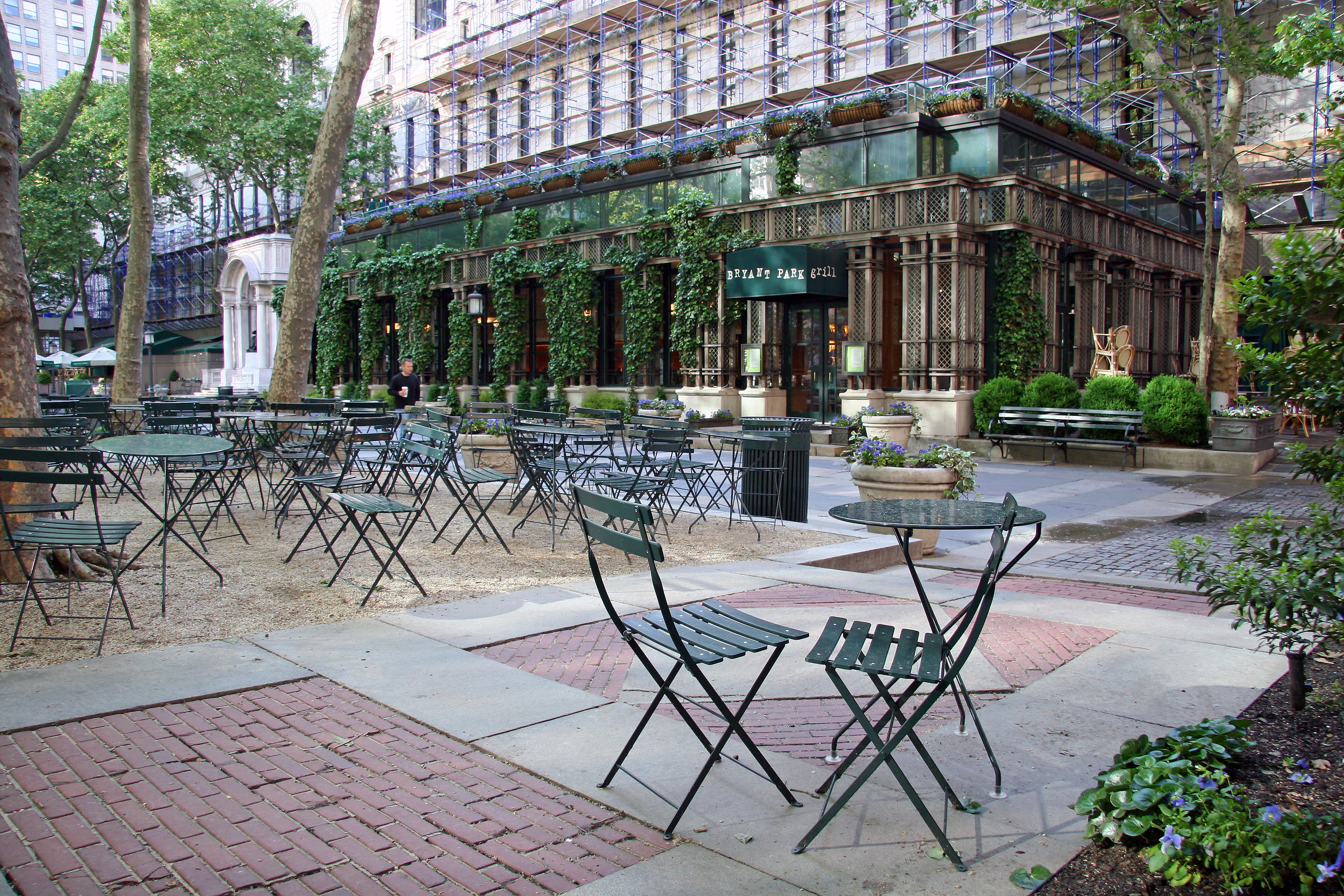 Bryant Park Grill Restaurant Photo Hubert Steed Photos At