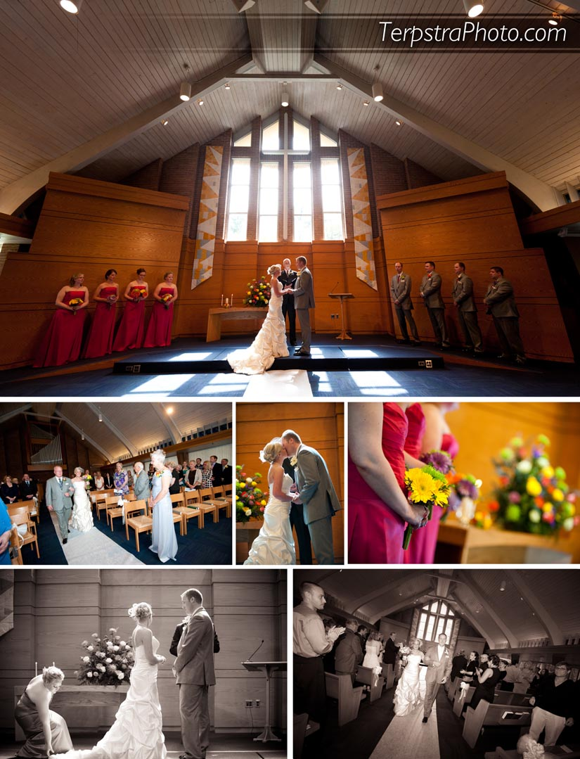 Calvin College Wedding Pictures