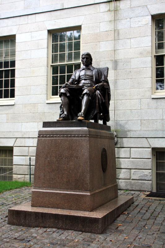 John Harvard, Boston