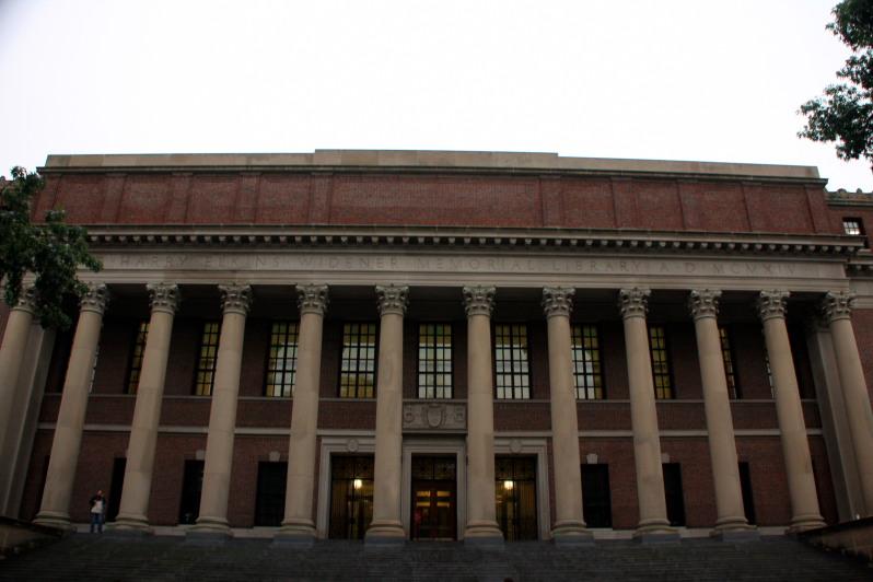 Harvard Library, Boston