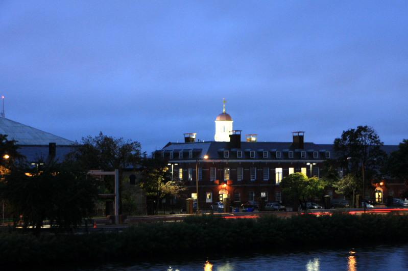 Harvard at twighlight, Boston