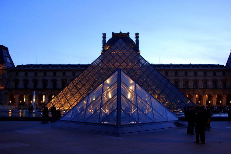 Musée du Louvre, the Grand Louvre, Paris, France