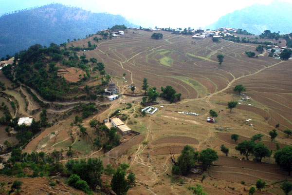 Throtchi village