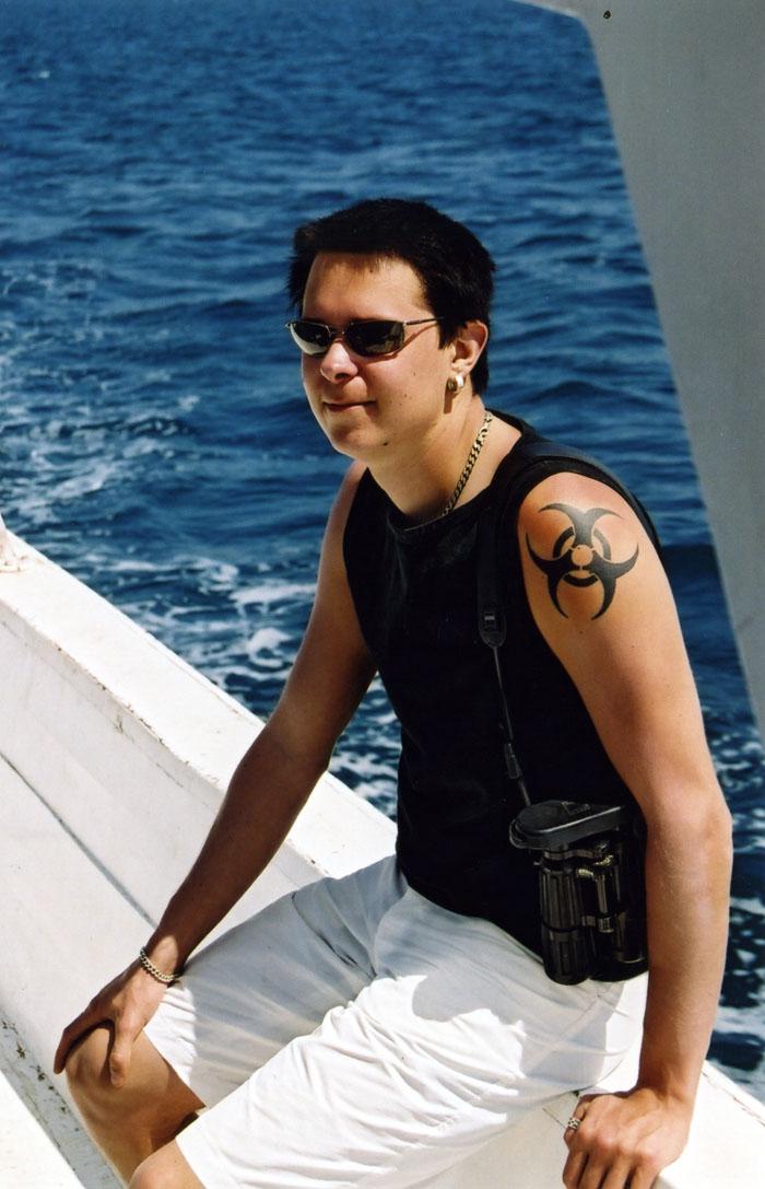 Båttur kring Gifton Island