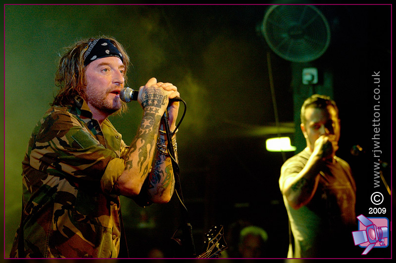 The Wildhearts play Portsmouth Wedgewood Rooms. Photographs by Robert Whetton Dorset Photographer