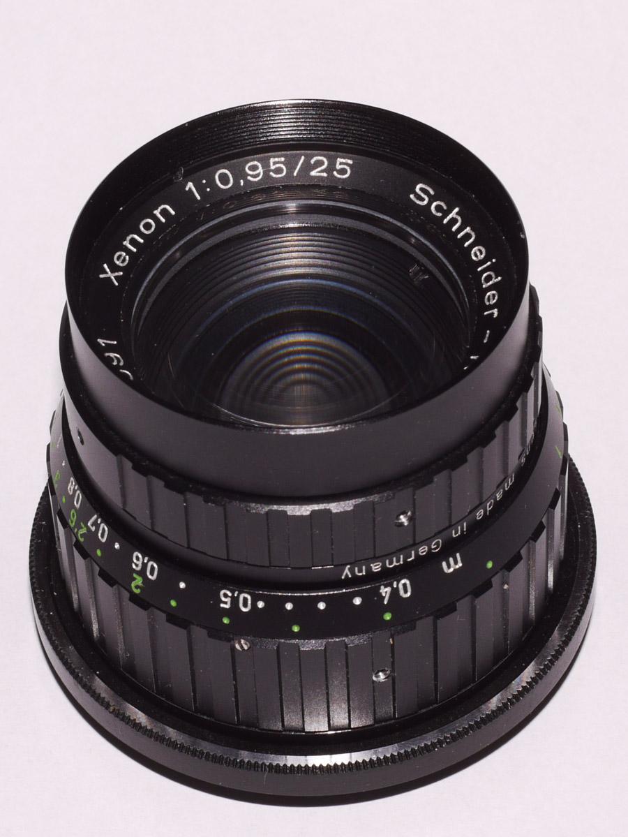 Schneider Xenon 25mm 0.95