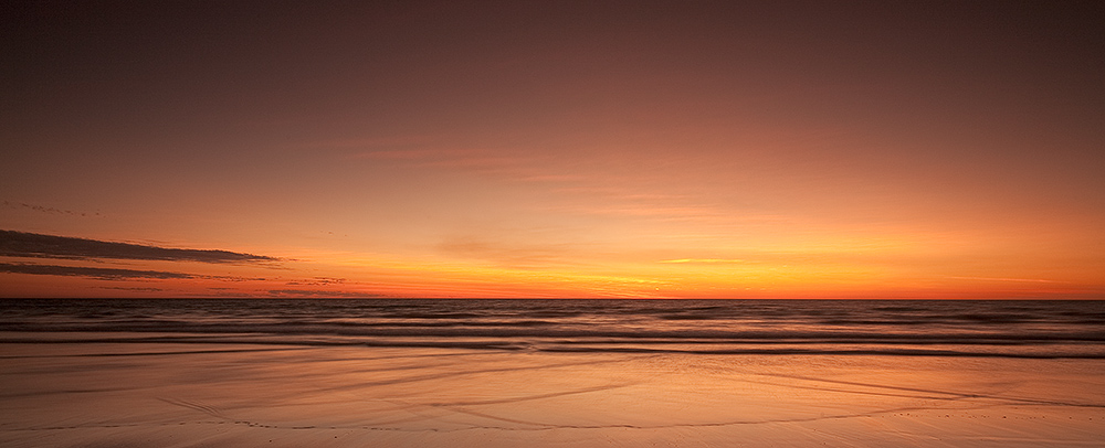 Cable Beach at Dusk Panorama