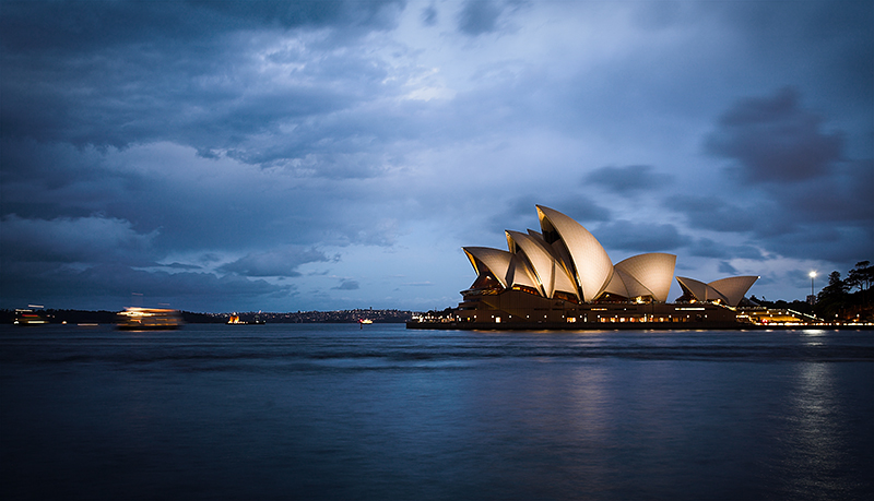Opera House after the storm