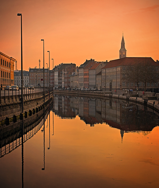A Mirror of Frederiksholm Canal