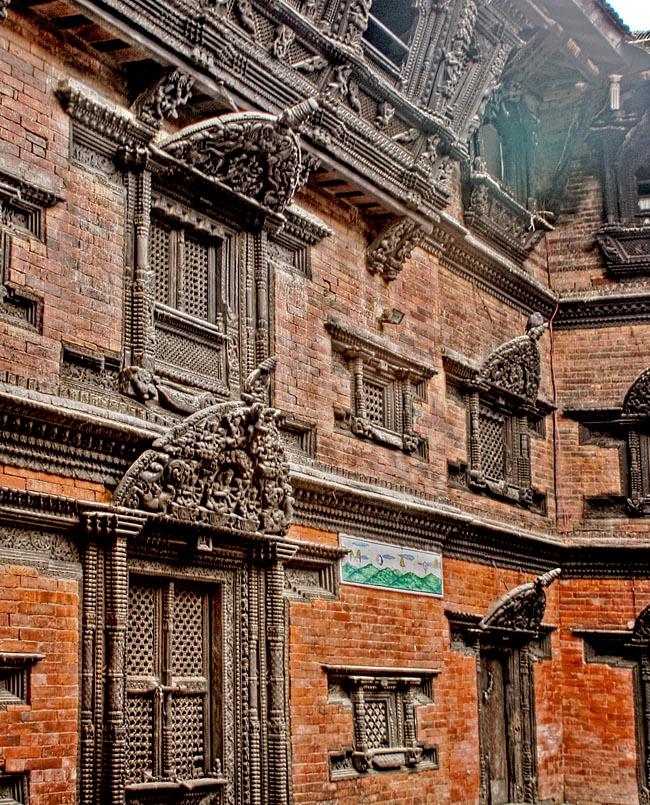 The Buddhist construction of Kumari Bahal.