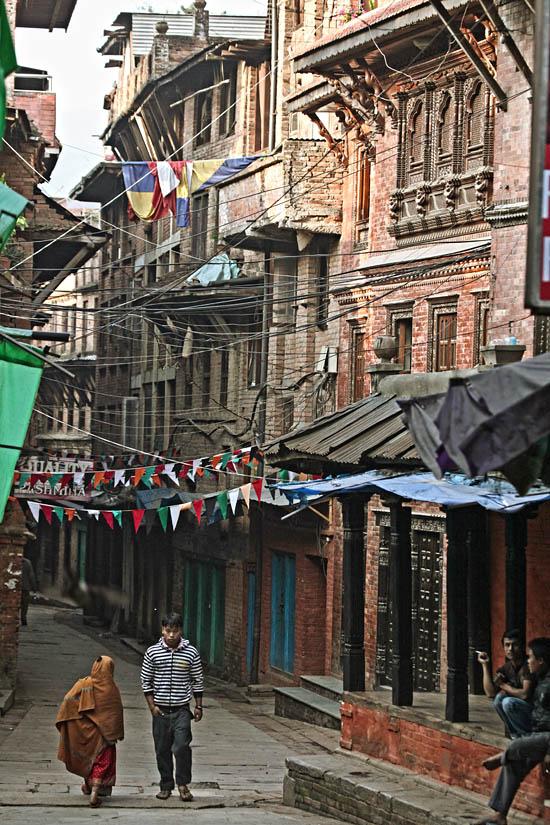Lane in Bhaktapur