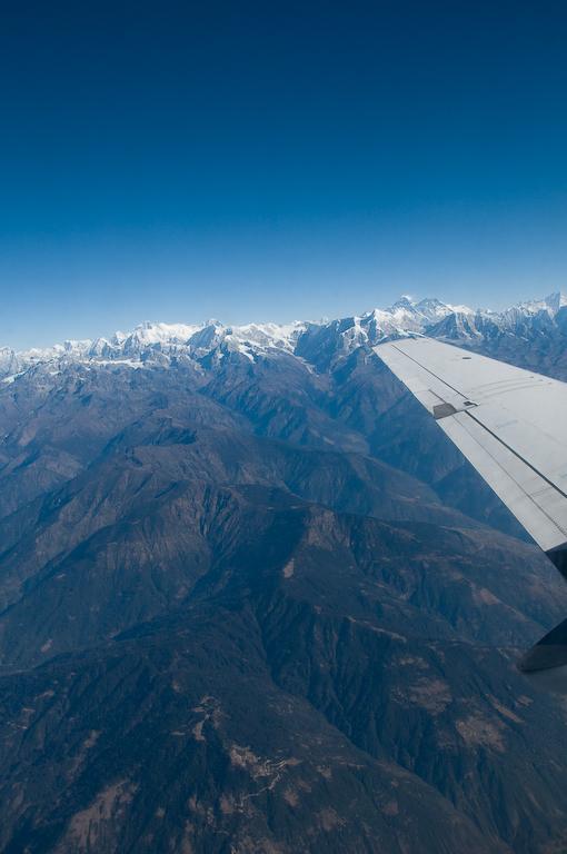 Vol vers lÉverest /  Everest mountain flight