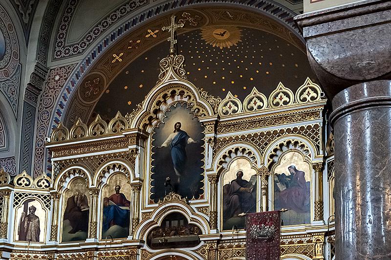 Uspenski Cathedral iconostasis