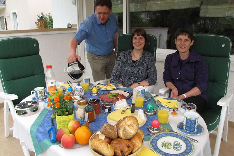 breakfast at Hans & Bettys