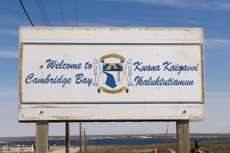Welcome to Cambridge Bay - Welkom in Cambridge Bay