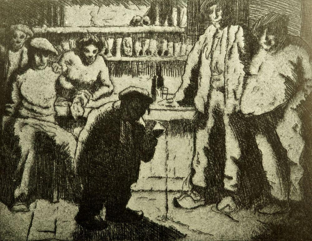 The Tipsy Dwarf, 1912. Exhibited Société Nationale des Beaux-Arts, Paris.