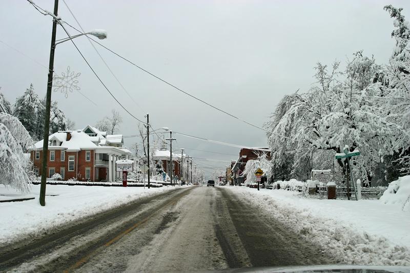 Clintwood, Virginia Main Street 12/21/09