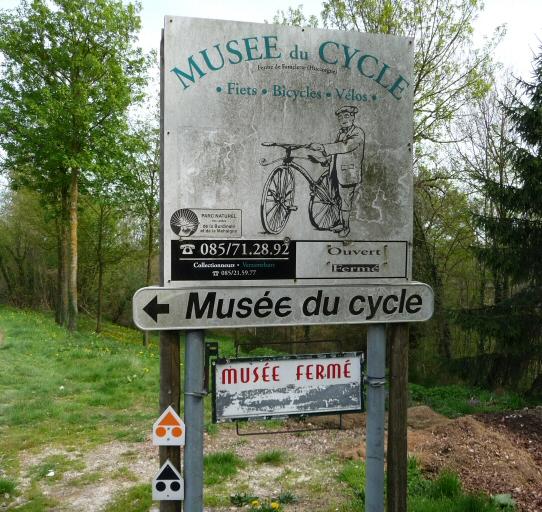 Musée du cycle, Huccorgne.