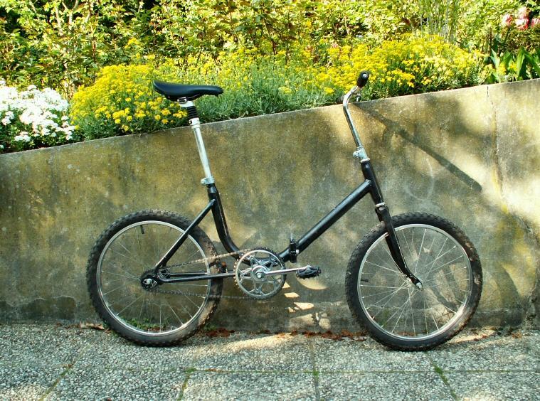 Mini-vélo fixie (cest mon vélo de cirque à moi !)