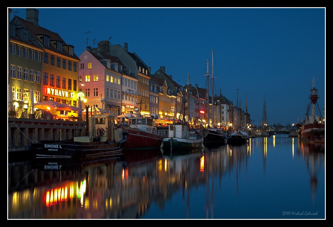 Nyhavn, the old harbor of Copenhagen
