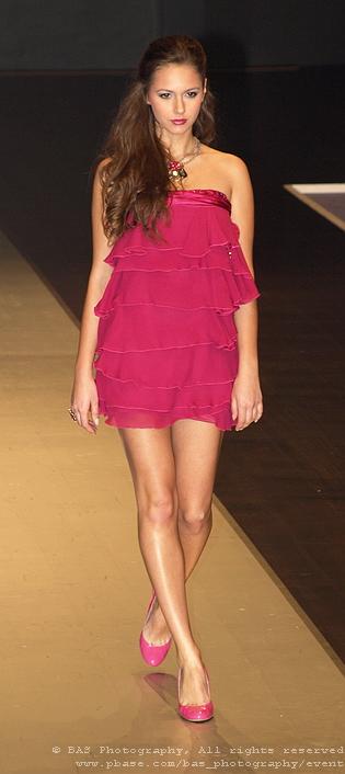 Alexandra Poiana<br>Bucharest Fashion Week 2008<br>Ersa Atelier