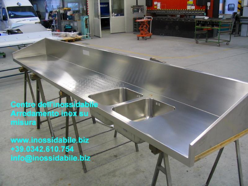 piano cucina speciale su misura in acciaio inox satinato_1_1.jpg ...