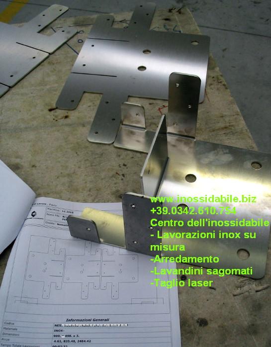 scatolati inox taglio laser e piegatura
