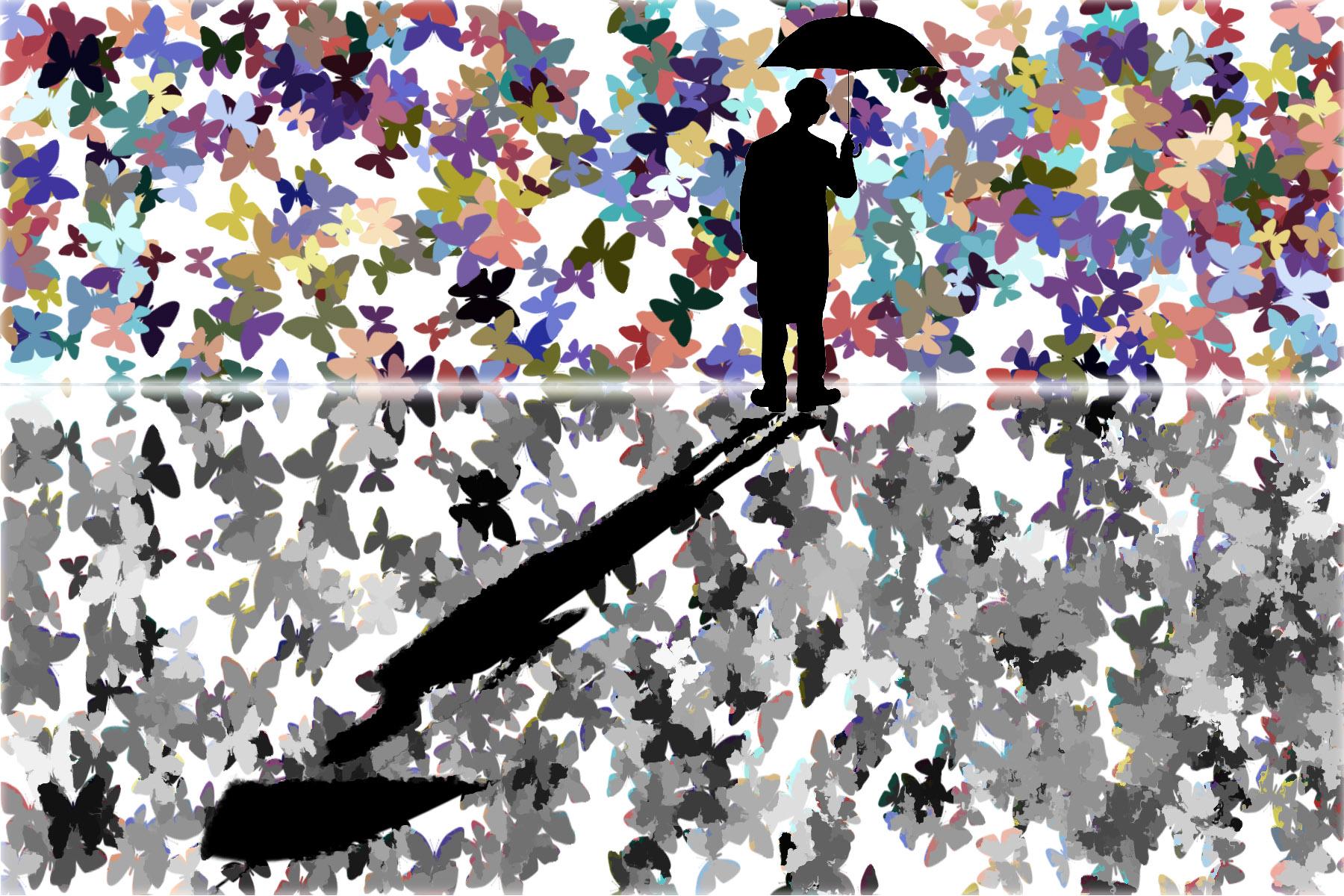 Raining Butterflies